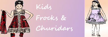 Custom Kids Frocks and Churidhars