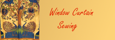 Window Curtain Sewing